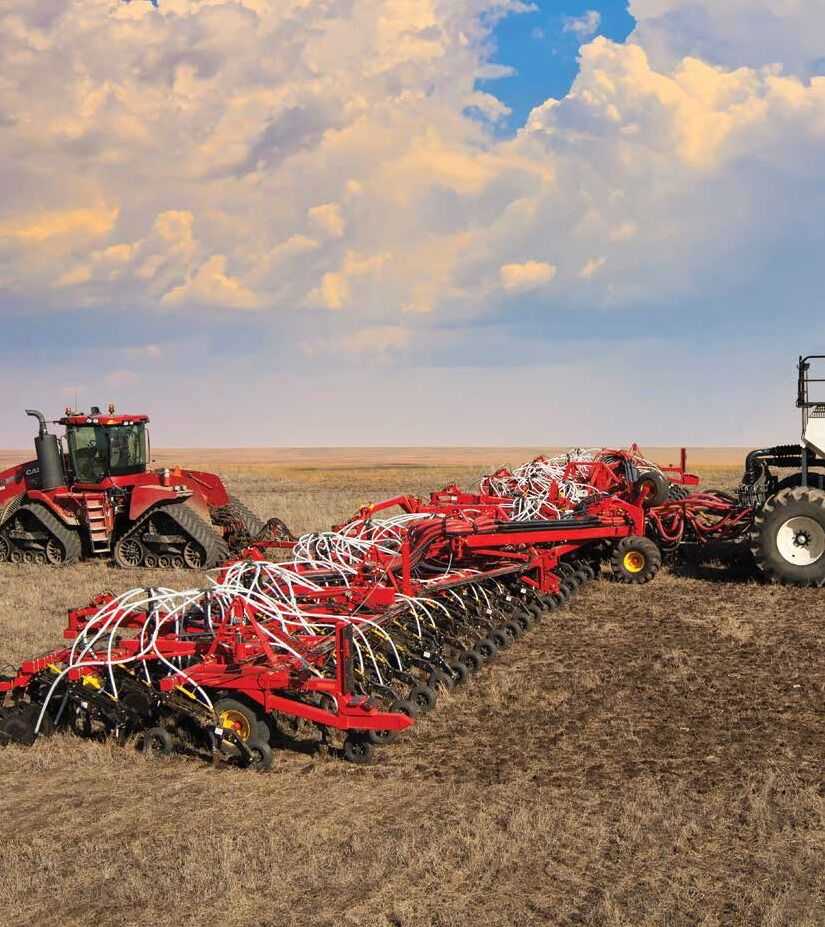 Bourgault delivers the most advanced seed placement ever