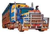 Trucks, Vans and Buses, Trailers, Utes and Trays
