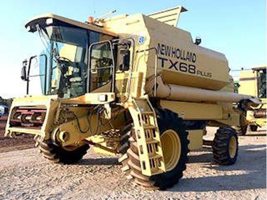 New Holland TX68 combine harvester