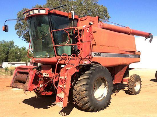 Case IH NH67 combine harvester