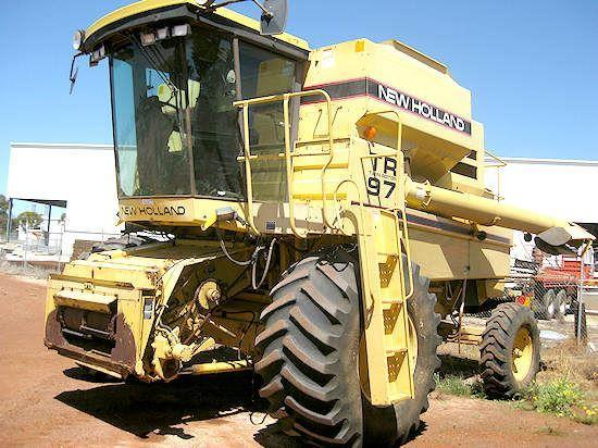 New Holland TR97 combine harvester