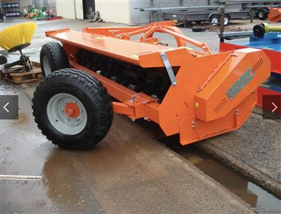 Photo 2. TIERRE TRL DT/MR400 mulcher
