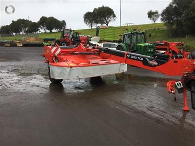 Kuhn FC 3160 TCD mower conditioner