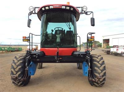 Photo 2. Case IH WD1903 windrower