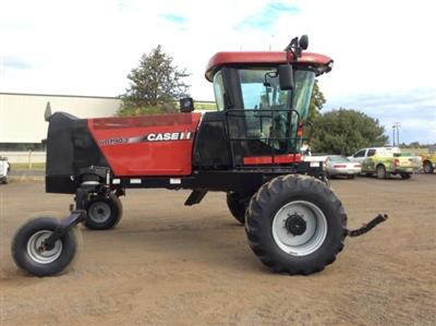 Photo 4. Case IH WD1903 windrower