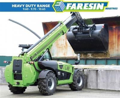 Photo 2. Faresin FH9.60 telehandler