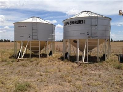 Photo 2. Sherwell 28T grain bin