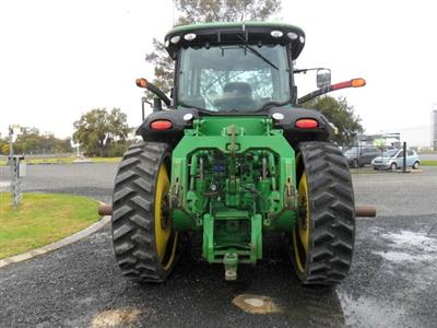 Photo 3. John Deere 8360RT tracked tractor
