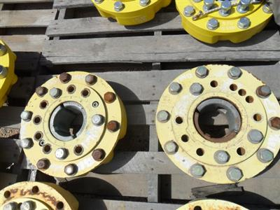 John Deere 8100 front idler weight