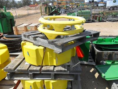 John Deere 8360R Rear Wheel Weights