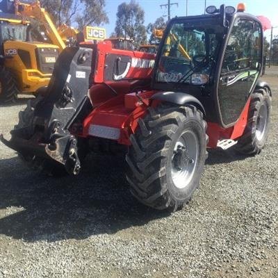 Photo 1. Manitou MLT-X735LSU Turbo Telescopic Handler