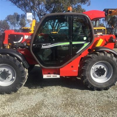 Photo 2. Manitou MLT-X735LSU Turbo Telescopic Handler