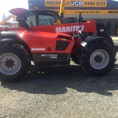 Photo 4. Manitou MLT-X735LSU Turbo Telescopic Handler