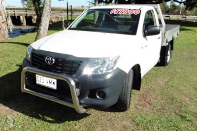Photo 1. Toyota Hilux Workmate Auto 4x2 ute