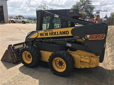 Photo 2. New Holland L185 Skid Steers loader