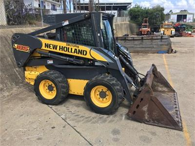 Photo 1. New Holland L185 Skid Steers loader