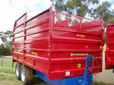 Marshall S/10 Drop Side C/W Silage Sides