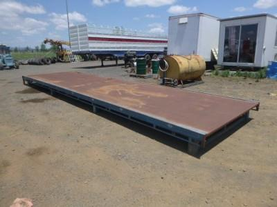 Unknown Container Pin Drop Deck Frame Tray trailer