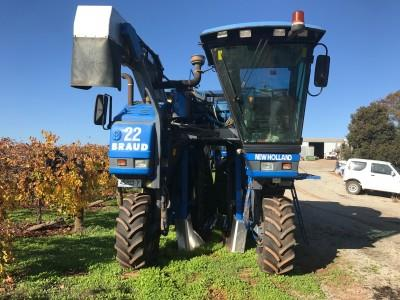 Braud SB65 Grape Harvester