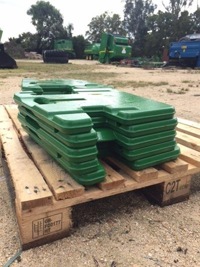 Photo 1. John Deere 5000 & 6000 Series Tractor weights