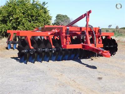 Photo 1. Serafin Eco Series 20 Plate Offset Disc cultivator