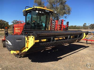 New Holland HW320 windrower