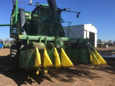 Photo 1. John Deere 9960 cotton harvester