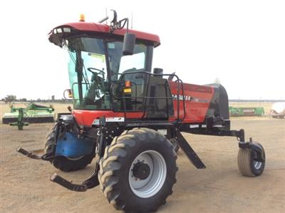 Photo 1. Case IH WD1903 windrower