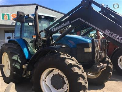 Photo 1. New Holland 8560 tractor