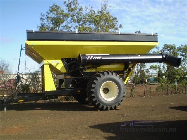 EZTech 1020 Grain Carts