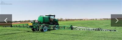 Goldacres G4 self propelled sprayer