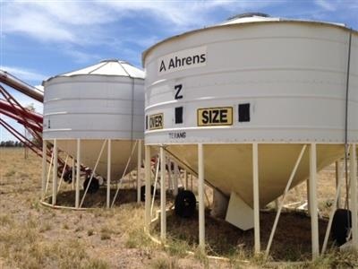 Photo 1. Sherwell 28T grain bin