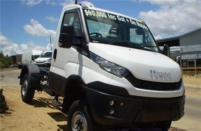 Photo 1. Iveco Daily 55170 4x4 Cab Chassis truck