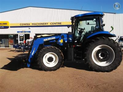 Photo 1. New Holland T6050 Plus tractor