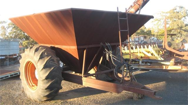 CUSTOM MADE 8T chaser bin