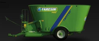 Faresin Twinner 1400 feed mixer