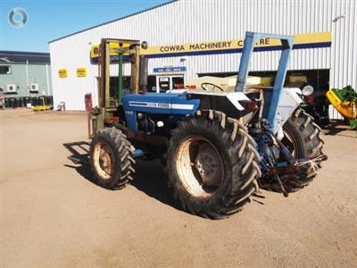 Photo 1. Ford 5600 FWA tractor