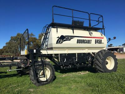 Bourgault 6450 airseeder
