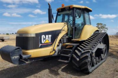Caterpillar Challenger 35/45/55 track replacement