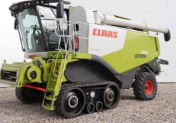 Claas Lexion track replacement