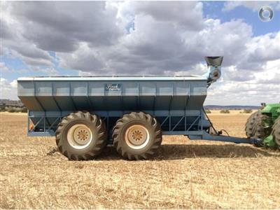 Finch Engineering 25 Tonne 25T grain bin