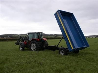 Photo 1. Fleming 6 Ton Trailer