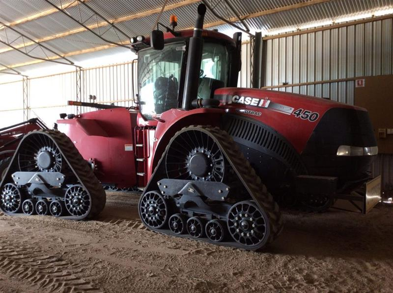 Case IH STEIGER 450 ROWTRAC tracked tractor