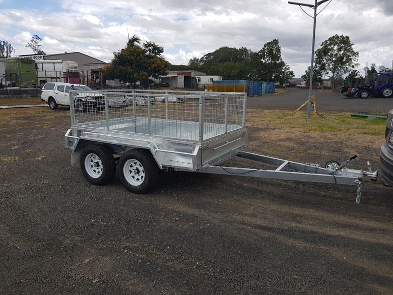 Tandem 8x5 dual axle heavy duty trailer