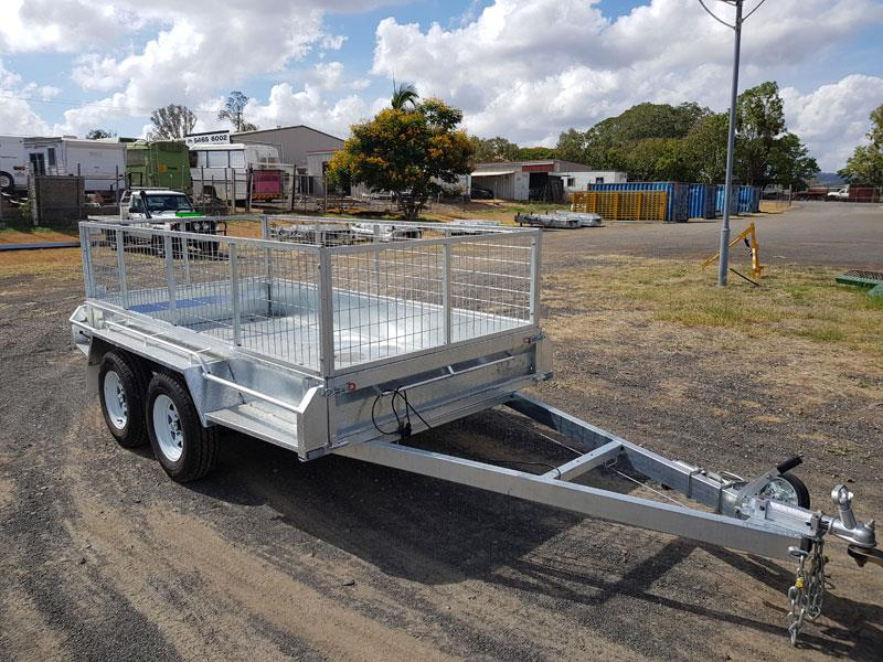 Tandem 10x5 dual axle heavy duty trailer