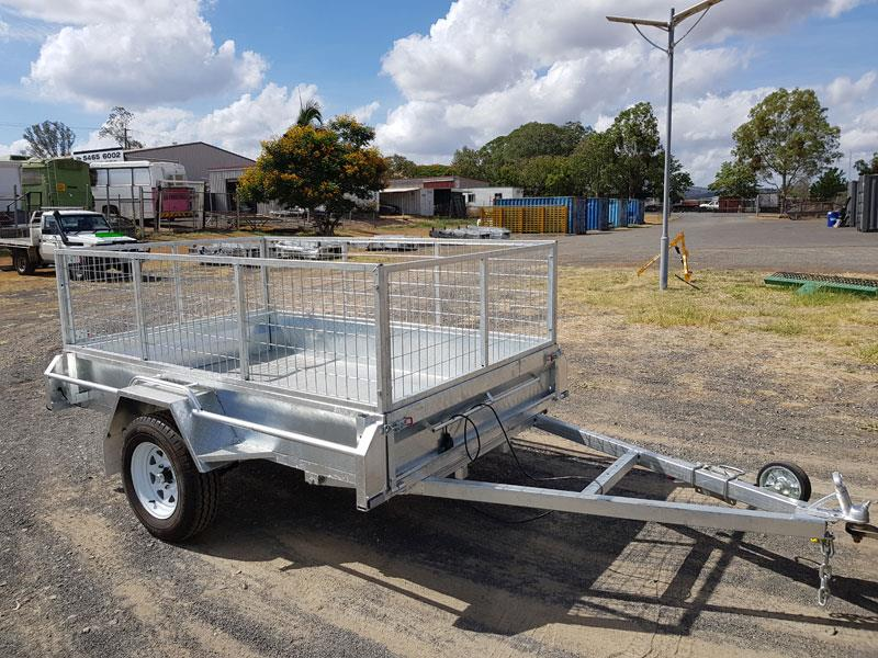 Agking 8x5 tipping trailer