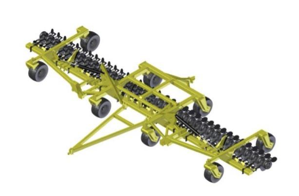 Serafin Ultisow SRB 9-12m single disc seeder