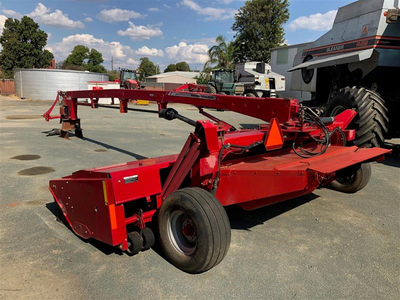 Massey Ferguson 1375 4.6m steel on steel mower conditioner