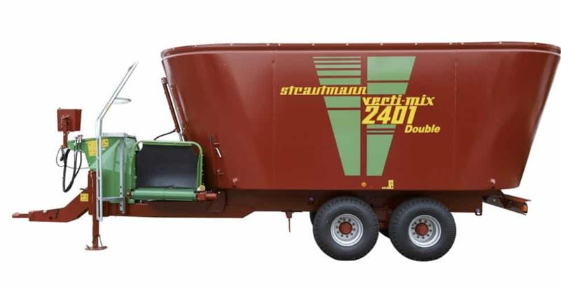 Strautmann Verti-Mix Double Auger Feed Mixer