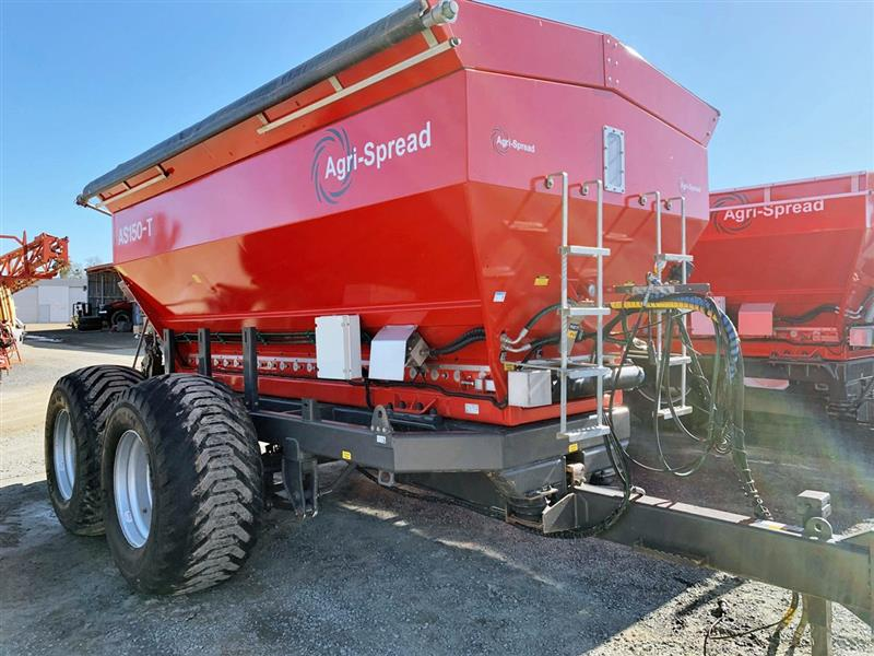 Agri-Spread AS150-T ISO weight cells spreader